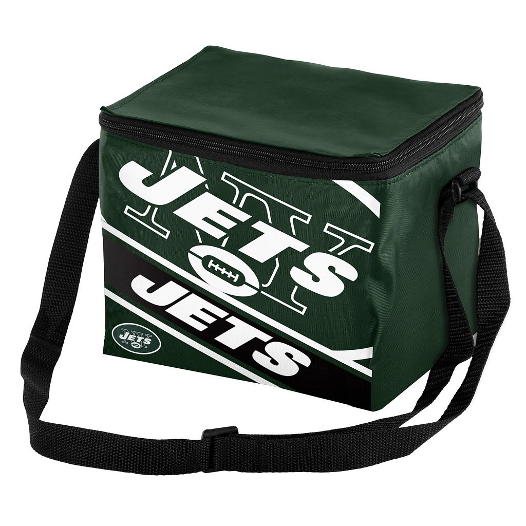 Forever Collectibles New York Jets Lunch Bag Insulated Cooler