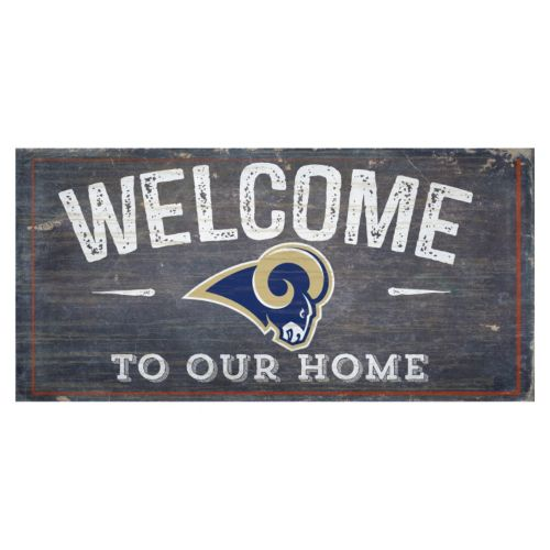 Los Angeles Rams Distress Welc...