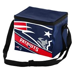 Forever Collectibles New England Patriots Lunch Bag Insulated Cooler