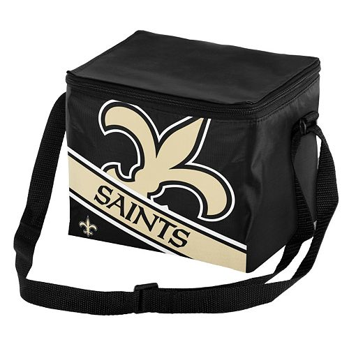 Forever Collectibles New Orleans Saints Lunch Bag Insulated Cooler