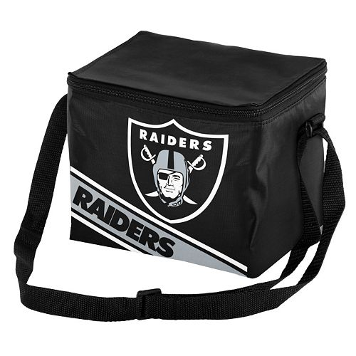 Forever Collectibles Oakland Raiders Lunch Bag Insulated Cooler