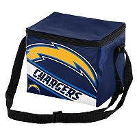 Forever Collectibles San Diego Chargers Lunch Bag Insulated Cooler