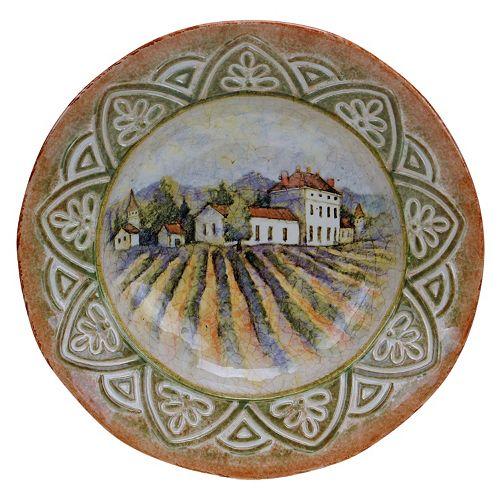 Certified International Sanctuary Wine 14-in. Pasta Serving Bowl
