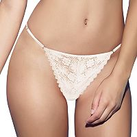Jezebel Lulu Crochet Lace G-String Thong 52044