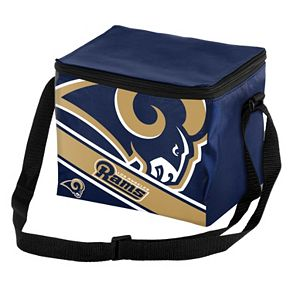 Forever Collectibles Los Angeles Rams Lunch Bag Insulated Cooler