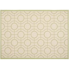 Safavieh Courtyard Galaxy Geometric Indoor Outdoor Rug