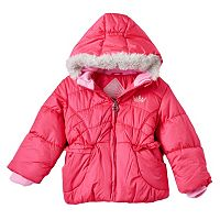 Toddler Girl ZeroXposur Heavyweight Fleece-Lined Jacket