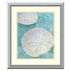 Amanti Art Seaglass 3 Framed Wall Art