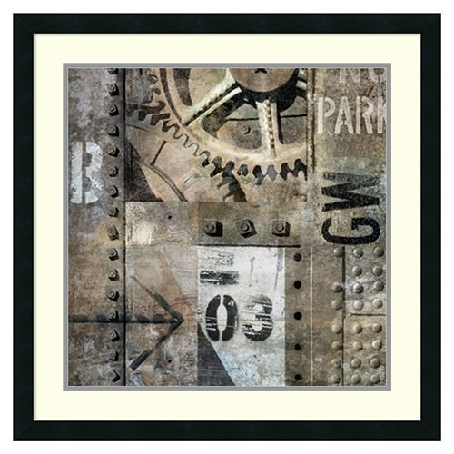 Amanti Art Industrial I Framed Wall Art