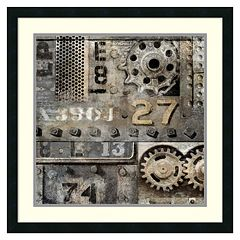 Amanti Art Industrial II Framed Wall Art