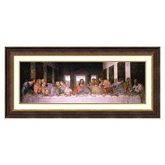 Amanti Art The Last Supper Framed Wall Art by Leonardo da Vinci