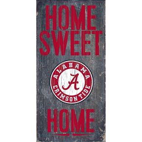 Alabama Crimson Tide Sweet Home Wall Art