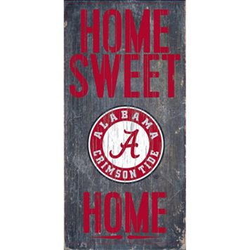 Alabama Crimson Tide Sweet Home Wall Art