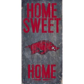 Arkansas Razorbacks Sweet Home Wall Art