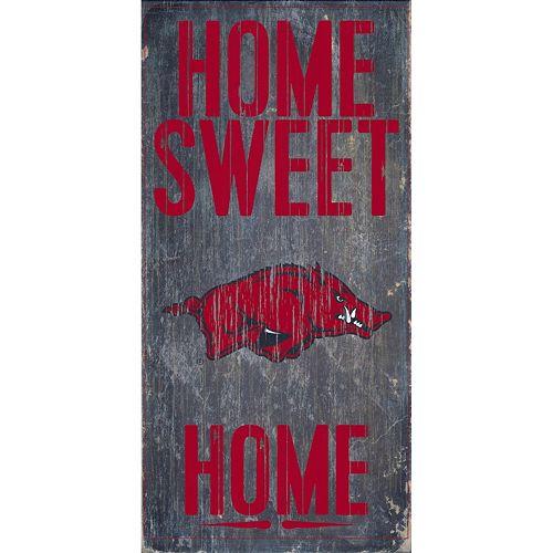 Arkansas Razorbacks Sweet Home Wall Art
