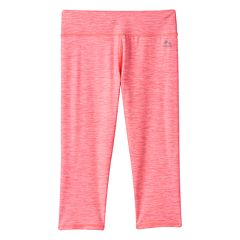 Girls 7-16 RBX X-Dri Heathered Performance Capri Leggings