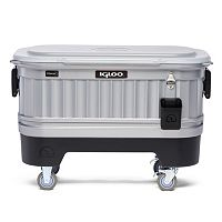 Igloo 125-Quart Party Bar Cooler with LiddUp LED Lighting