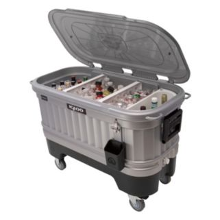 Igloo 125-Quart Party Bar Cooler with LiddUp LED Lighting