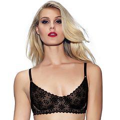 Jezebel Bra: Lulu Unlined Crochet Lace Demi Bra 11044