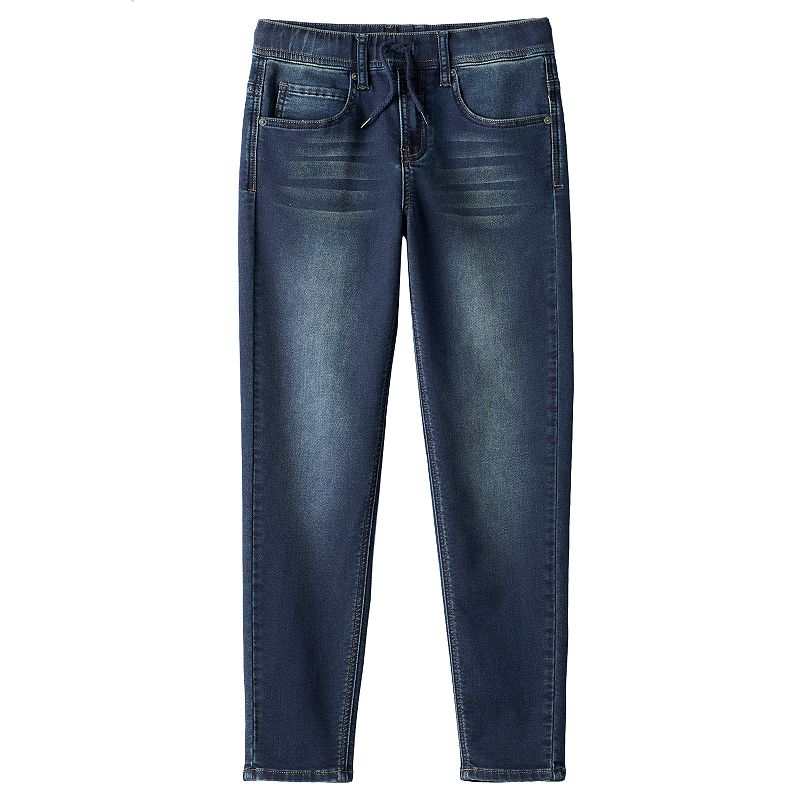 Boys 8-20 Hollywood Jeans Flex Drawstring Skinny Jeans, Boy's, Size: M(10-12), Med Blue