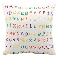 Kids Mina Victory Alphabet Throw Pillow