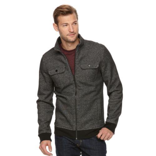 Men's Apt. 9® Modern-Fit Four-Pocket Marled Military Jacket