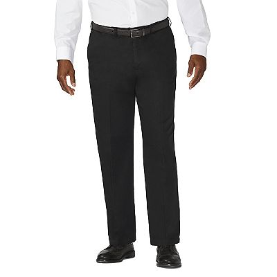 Haggar Work-to-Weekend Flat-Front Khakis - Big and Tall
