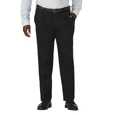 Haggar Work-to-Weekend Pleated No-Iron Khakis - Big and Tall