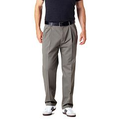 Big & Tall Haggar Work to Weekend Classic-Fit Pleated Expandable Waist Pants