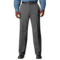 Big & Tall Haggar® Cool 18® Classic-Fit Flat-Front No-Iron Expandable Waist Pants