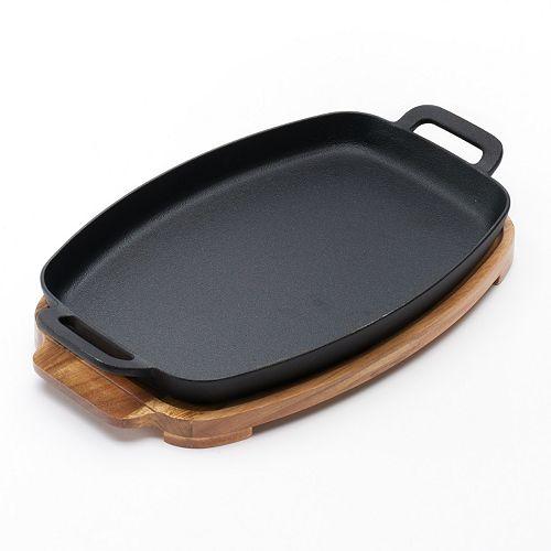 Food Network™ Pre-Seasoned Cast-Iron Sizzle Pan Set
