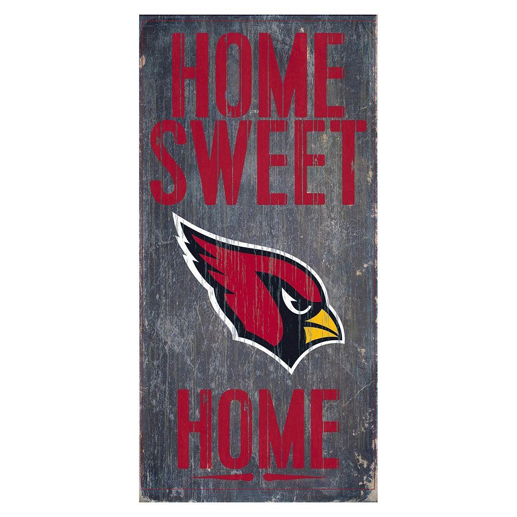 Arizona Cardinals Home Sweet Home Sign