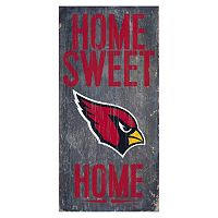 Arizona Cardinals Home Sweet Home Sign