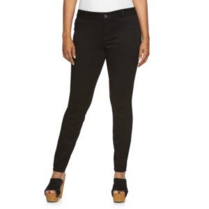 Juniors' Plus Size SO® Sateen Jeggings