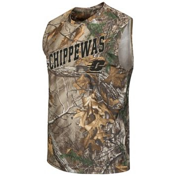 Men's Campus Heritage Central Michigan Chippewas Realtree Muscle Tee
