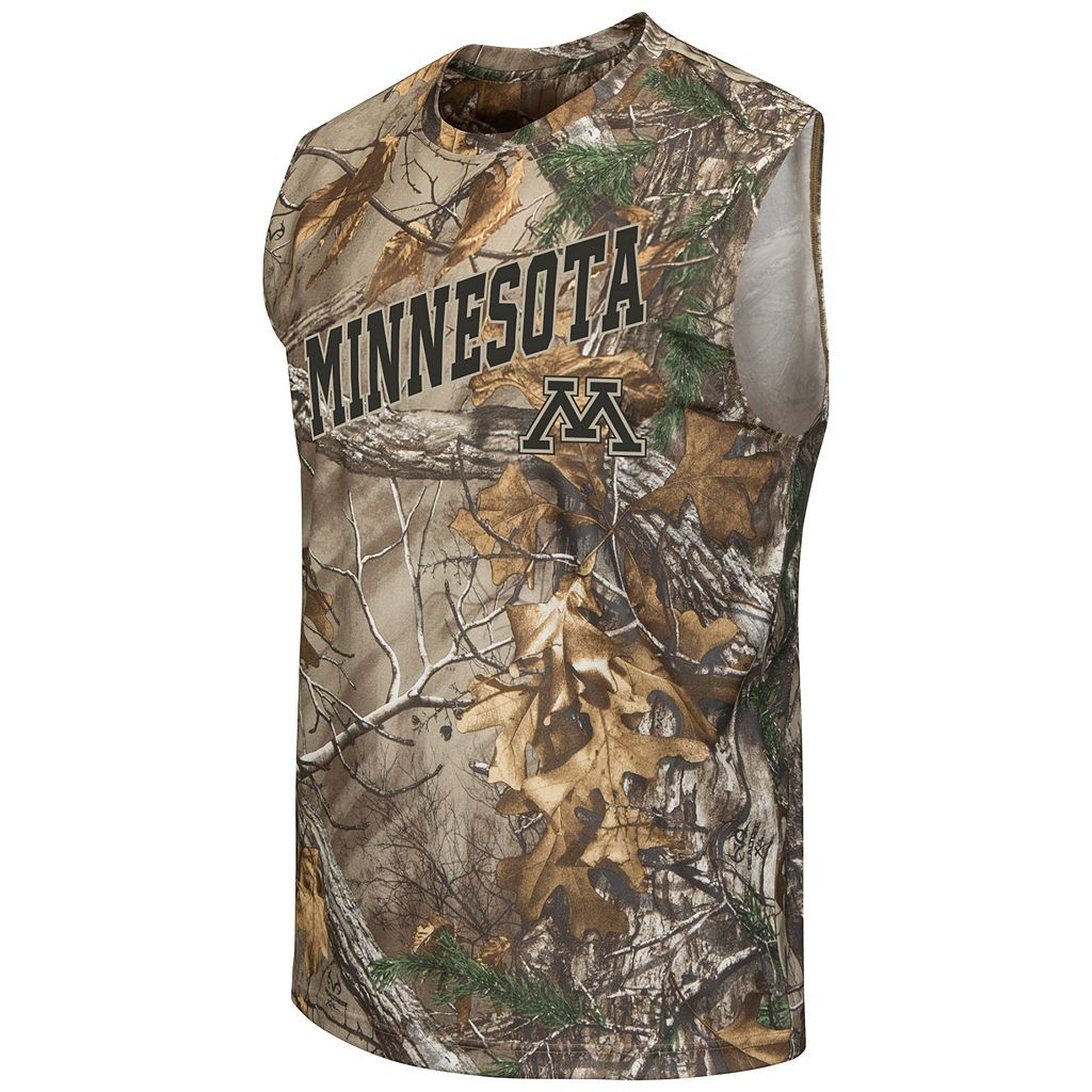 Men's Campus Heritage Minnesota Golden Gophers Realtree Muscle Tee