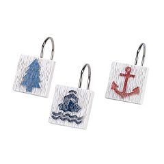 Avanti Lake Words 12-pack Shower Hooks