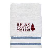 Avanti Lake Words Hand Towel
