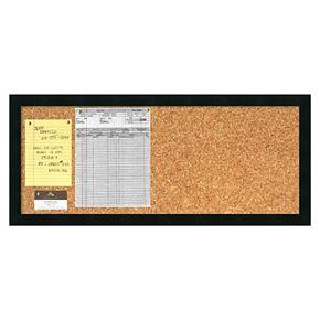 Amanti Art Mezzanotte Cork Bulletin Board