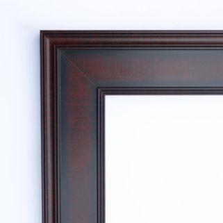 Amanti Art Annatto Framed Floor Mirror
