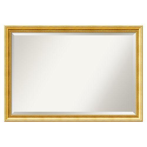 Amanti Art Townhouse Framed Wall Mirror