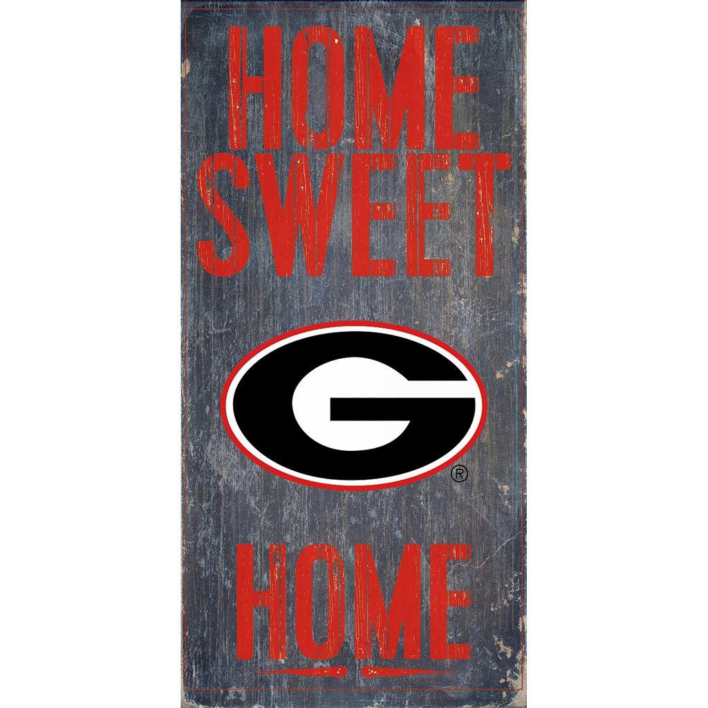 Georgia Bulldogs Sweet Home Wall Art