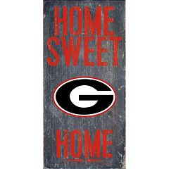 Georgia Bulldogs Sweet Home Wall Art