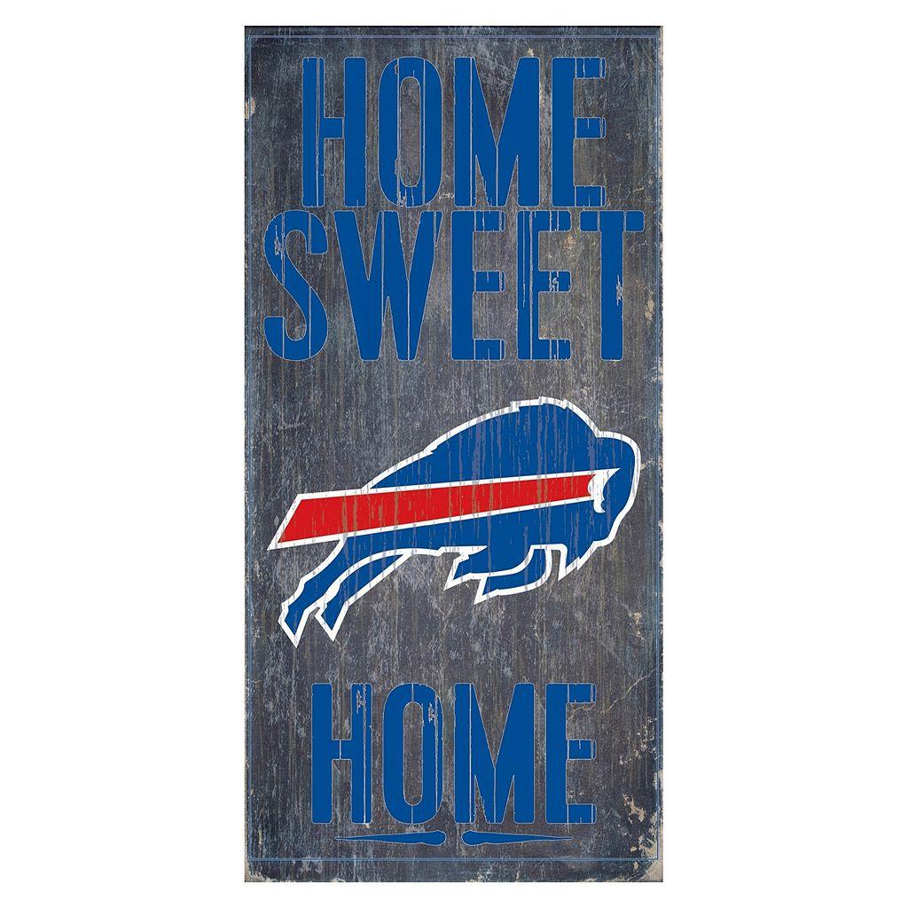 Buffalo Bills Home Sweet Home Sign