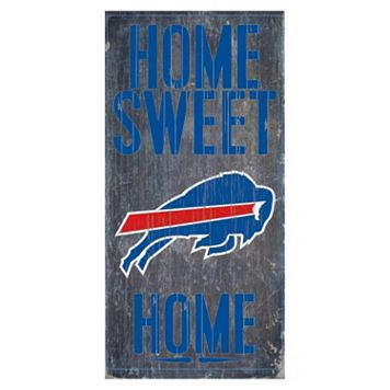 Buffalo Bills Home Sweet Home Sign