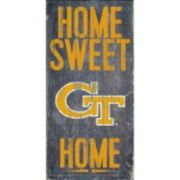 Georgia Tech Yellow Jackets Sweet Home Wall Art