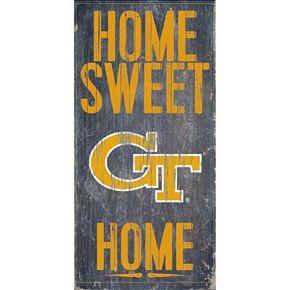 Georgia Tech Yellow Jackets Sweet Home Wall Art