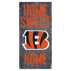 Cincinnati Bengals Home Sweet Home Sign