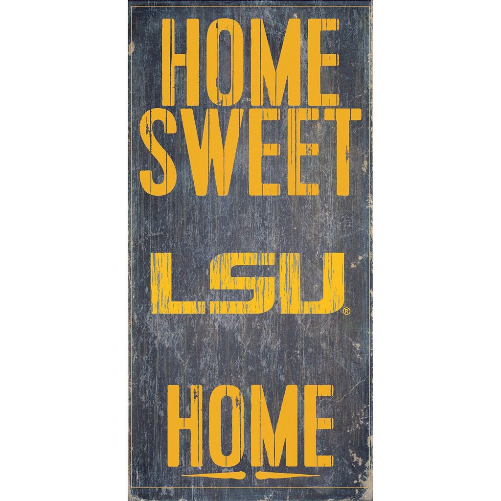 LSU Tigers Sweet Home Wall Art