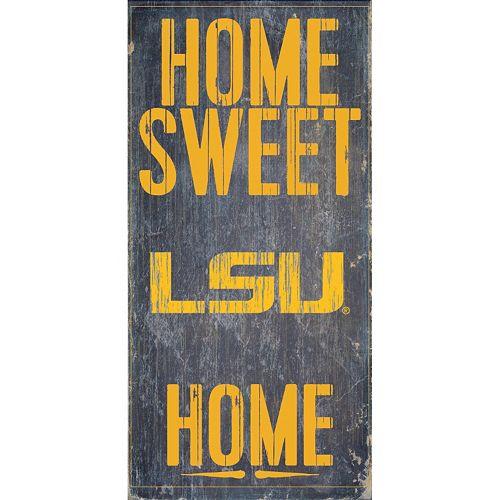 LSU Tigers Sweet Home Wall Art